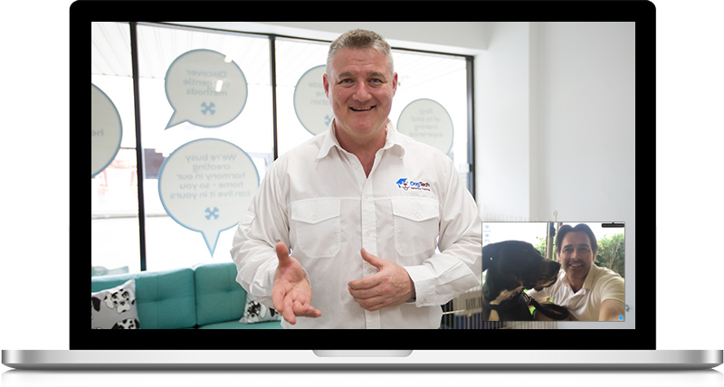 Richard - Online Dog Training Video conference 2